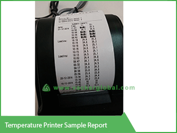 Temperature Printer Sample Report - Vacker Saudi Arabia
