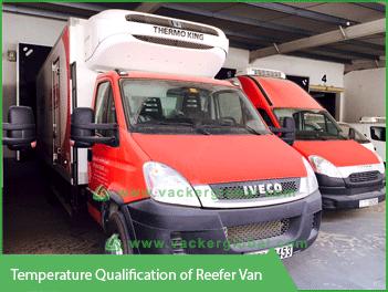 Temperature Qualification of Reefer Van - Vacker Saudi Arabia