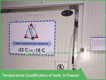 Temperature Qualification Walk-in Freezer - Vacker Saudi Arabia
