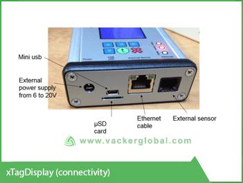 Refrigerator remote monitoring screen vacker global