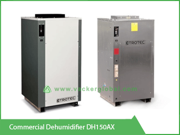 Commercial Dehumidifier DH150AX Vacker KSA