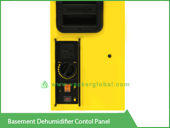 Basement Dehumidifier Control Panel Vacker KSA