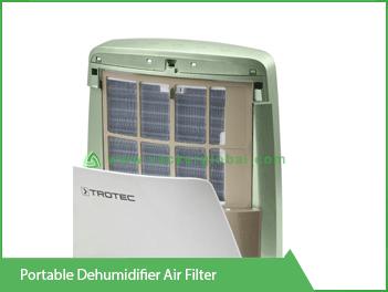 Portable Dehumidifier Air Filter Vacker KSA