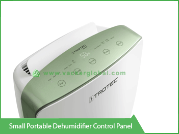 Small Portable Dehumidification Control Panel Vacker KSA