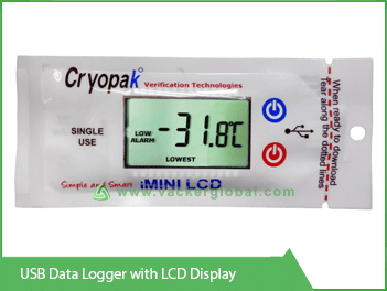 USB Data Logger with LCD Display Vacker KSA