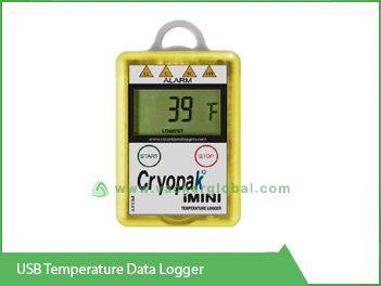 USB Temperature Data Logger Vacker KSA