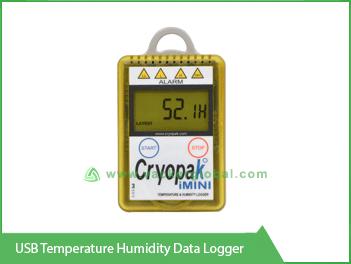 USB Temperature Humidity Data Logger Vacker KSA