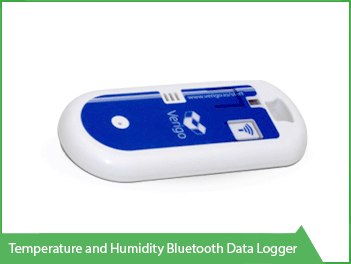 Temperature and Humidity Bluetooth Data Logger Vacker KSA