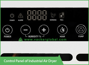 control-panel-of-industrial-air-dryer