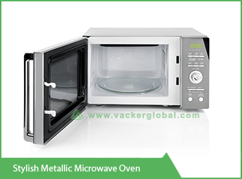 stylish-metallic-microwave-oven